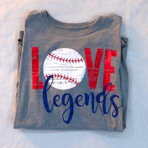 Baseball Mom Short Sleeve Tee